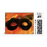 La máscara 2 del guardabosques solitario sello postal
