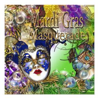 La máscara de la mascarada de Quinceanera PERSONAL Comunicados Personalizados