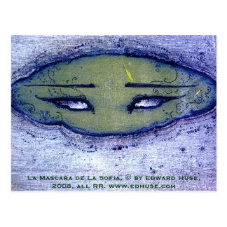 La Mascara de La Sofia Postcard