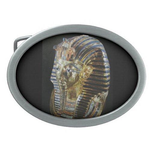 La máscara de oro de Tutankhamun Hebilla De Cinturon