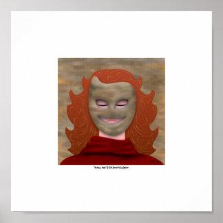 La máscara feliz póster