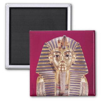 La máscara funeraria de Tutankhamun Iman