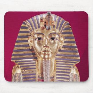La máscara funeraria de Tutankhamun Tapete De Raton