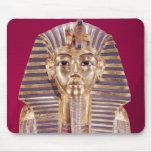 La máscara funeraria de Tutankhamun Alfombrilla De Ratón