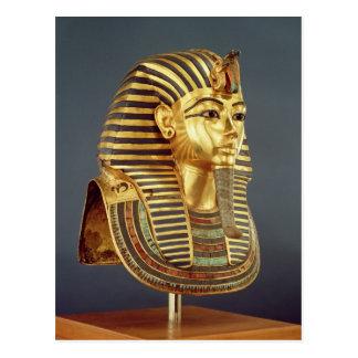 La máscara funeraria de Tutankhamun Tarjetas Postales