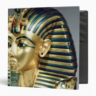 La máscara funeraria del oro, de la tumba de Tutan