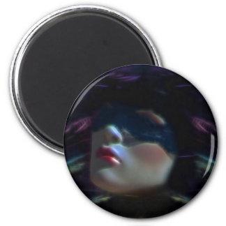 La máscara imán redondo 5 cm