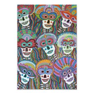 La Mascarada de los Muertos Card