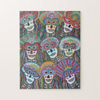 La Mascarada de los Muertos Jigsaw Puzzle