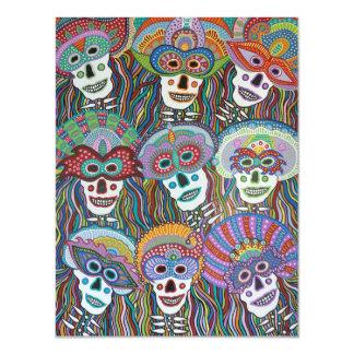 La Mascarada de los Muertos Magnetic Card