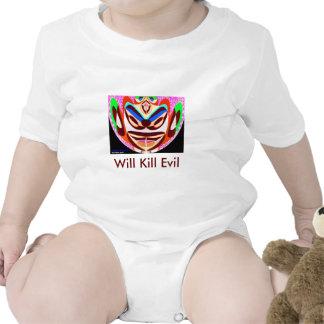 La mascota de Lotus - matará a mal Camiseta