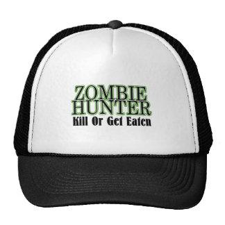 La matanza del cazador del zombi o consigue comida gorros bordados
