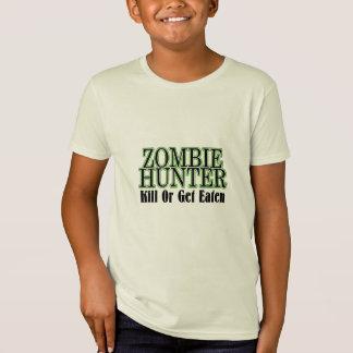 La matanza del cazador del zombi o consigue comida playera