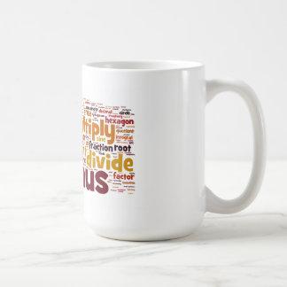La matemáticas consigue más difícilmente taza de café
