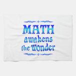 La matemáticas despierta toallas de cocina