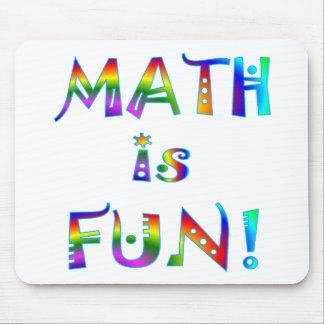 La matemáticas es diversión alfombrilla de ratones
