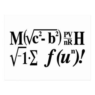 ¡La matemáticas es diversión! Postales