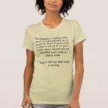 La matemáticas es grande camiseta