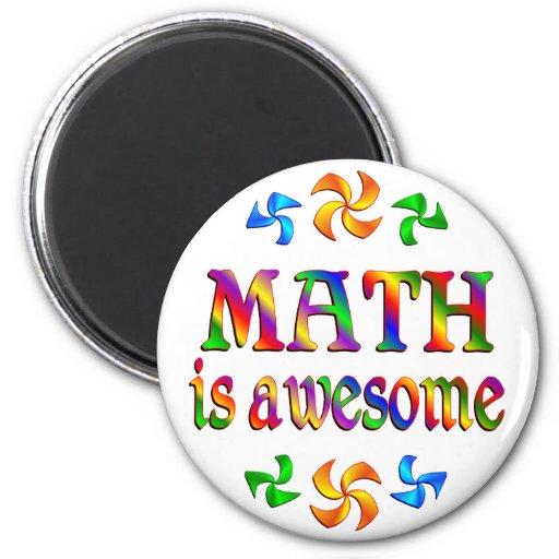 La matemáticas es impresionante iman