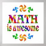 La matemáticas es impresionante impresiones