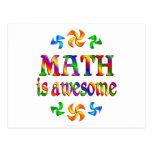 La matemáticas es impresionante postal