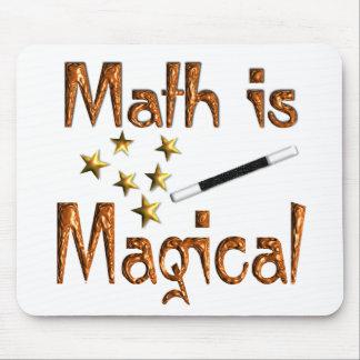 La matemáticas es mágica alfombrilla de raton