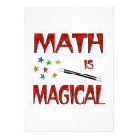 La matemáticas es mágica anuncios personalizados