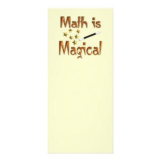 La matemáticas es mágica tarjeta publicitaria personalizada