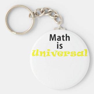 La matemáticas es universal