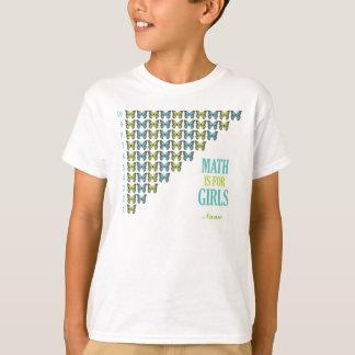 La matemáticas está para los chicas, yo ama la poleras