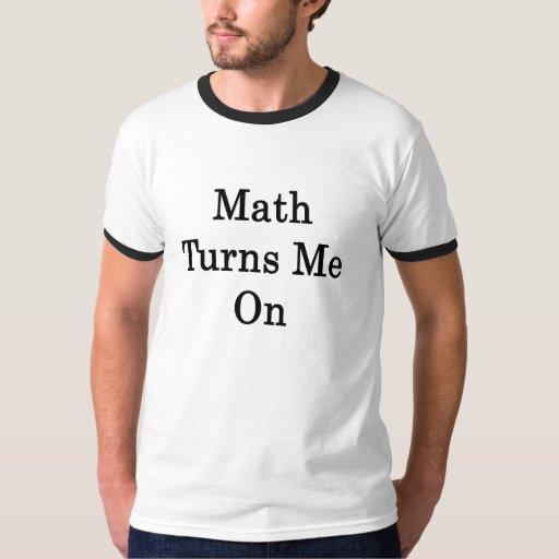 La matemáticas me gira remeras
