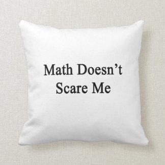 La matemáticas no me asusta almohadas