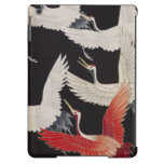 La materia textil japonesa del vintage Cranes el c