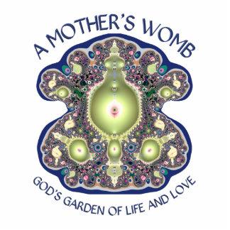 La matriz de una madre: El jardín de dios de la vi Fotoescultura Vertical
