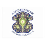 La matriz de una madre: El jardín de dios de la vi Tarjeta Postal