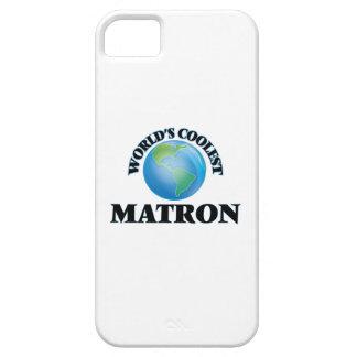 La matrona más fresca del mundo iPhone 5 Case-Mate cobertura
