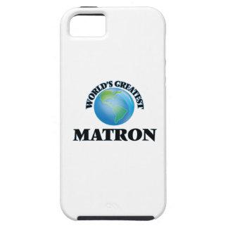 La matrona más grande del mundo iPhone 5 Case-Mate protectores