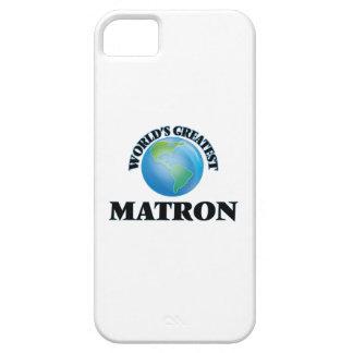 La matrona más grande del mundo iPhone 5 Case-Mate fundas