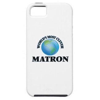 La matrona más lista del mundo iPhone 5 Case-Mate cárcasa