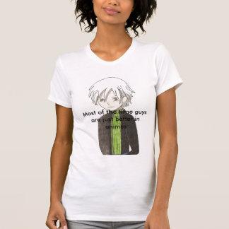 La mayor parte del tiempo los individuos son camiseta