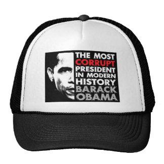 La mayoría corrompen al presidente gorro