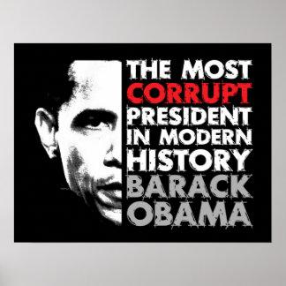 La mayoría corrompen al presidente impresiones