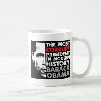 La mayoría corrompen al presidente taza