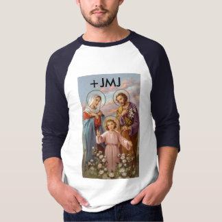 La mayoría de la camiseta santa de la familia polera