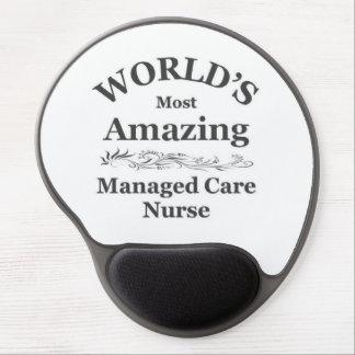 La mayoría de la enfermera del cuidado manejado qu alfombrillas de ratón con gel
