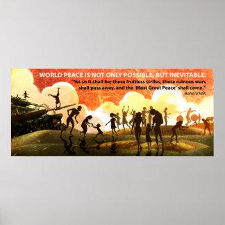 La mayoría de la gran paz póster