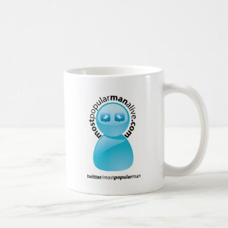 La mayoría de la taza de café popular del hombre