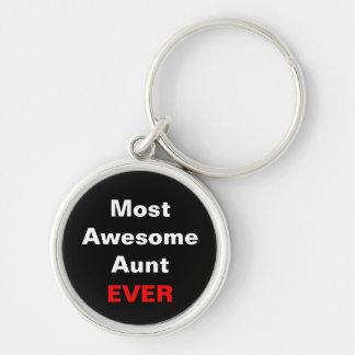 La mayoría de la tía impresionante Ever Keychain Llavero