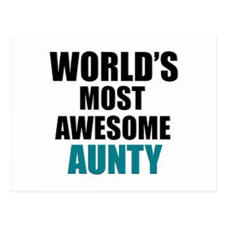 La mayoría de la tía impresionante