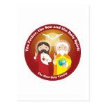 La mayoría de la trinidad santa postal